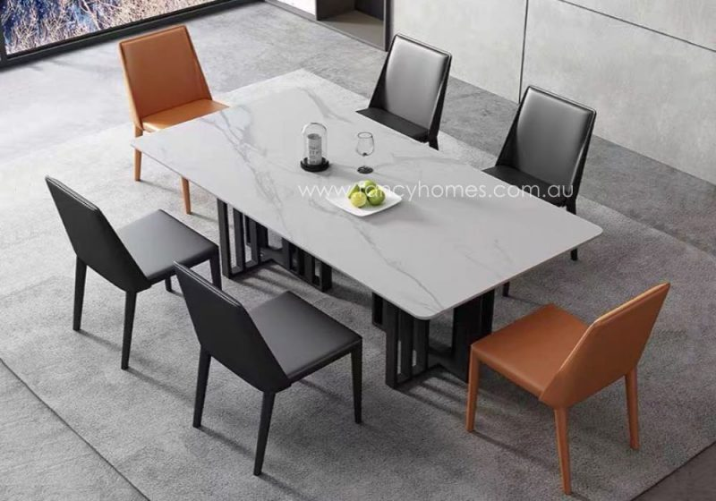 Fancy Homes Veronica Marble Top Dining Table