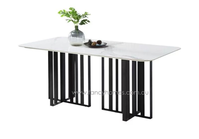 Fancy Homes Veronica Marble Top Dining Table, Tables