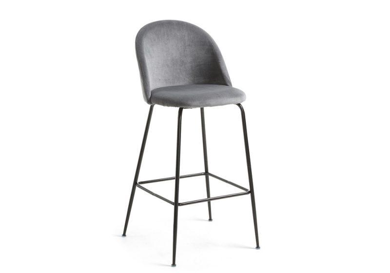 MYSTERE bar stool grey