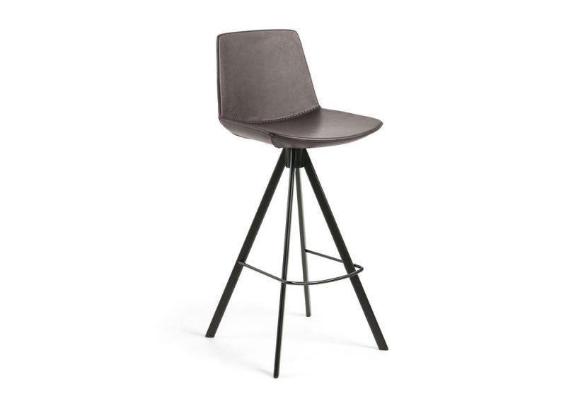 Zast bar stool brown